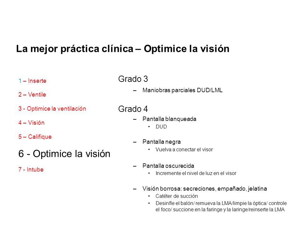 La mejor práctica clínica – Optimice la visión