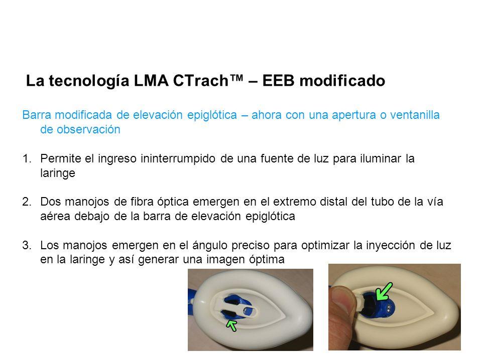La tecnología LMA CTrach™ – EEB modificado