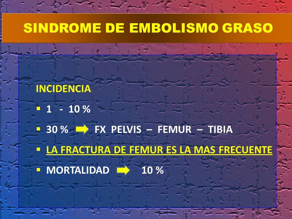 SINDROME DE EMBOLISMO GRASO