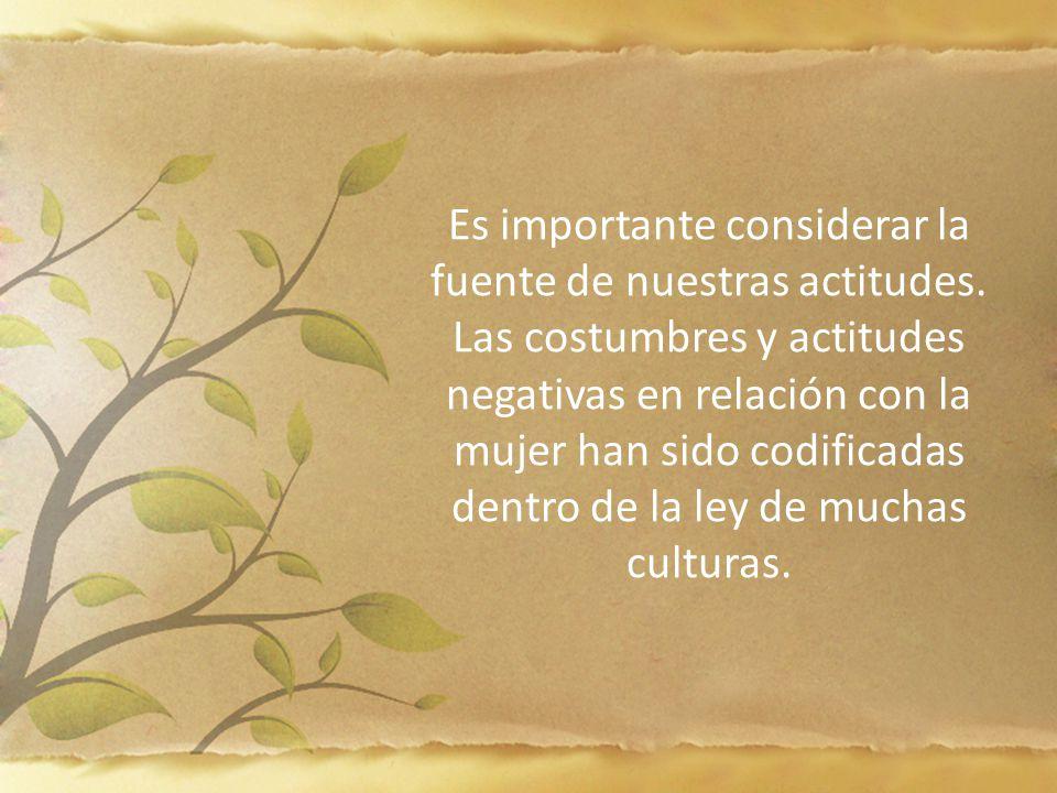 Es importante considerar la fuente de nuestras actitudes