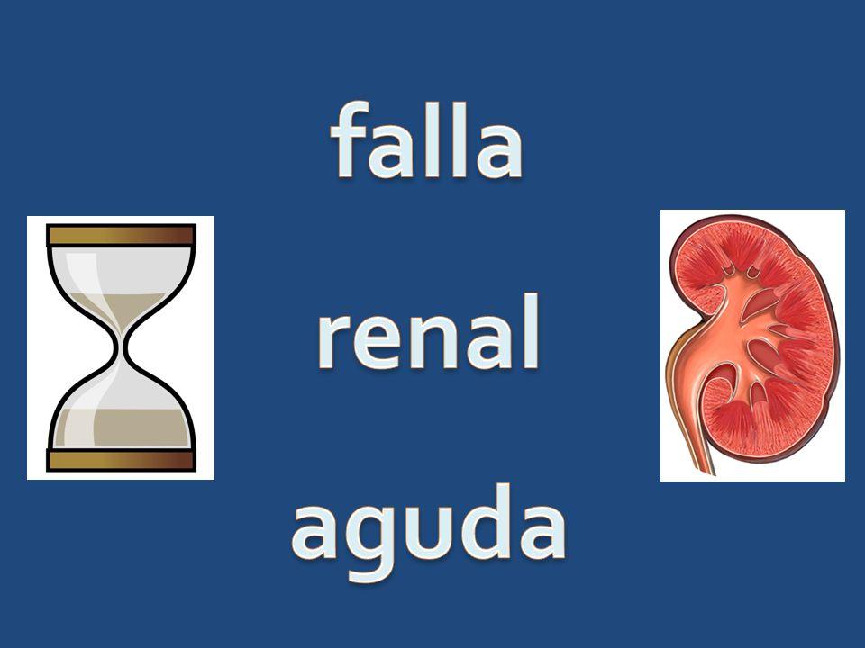 falla renal aguda