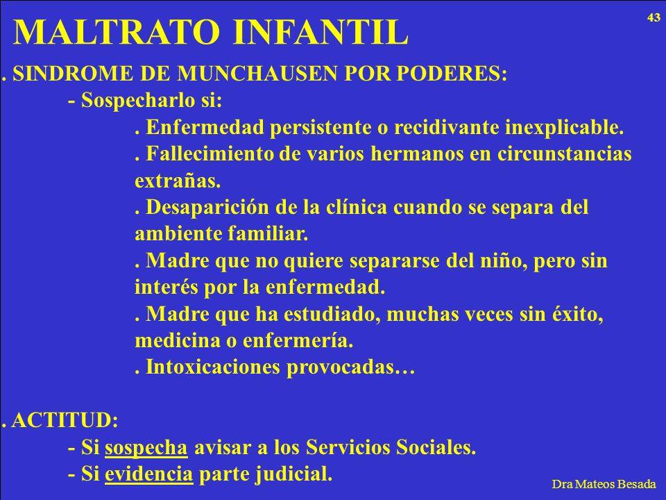 MALTRATO INFANTIL . SINDROME DE MUNCHAUSEN POR PODERES: