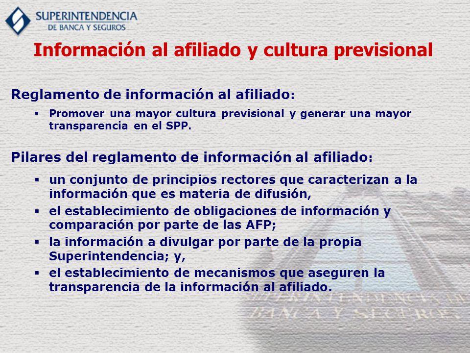 Información al afiliado y cultura previsional