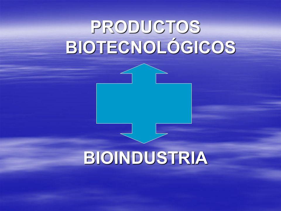 PRODUCTOS BIOTECNOLÓGICOS