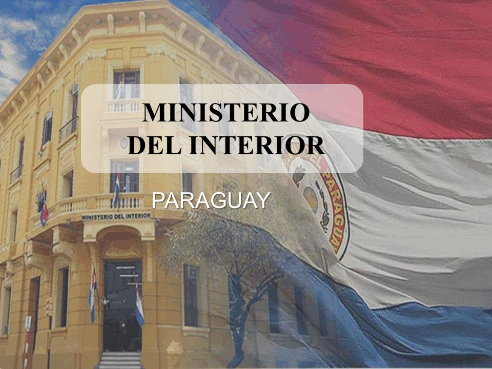 Ministerio del interior ppt descargar for Ministerio del interior antecedentes