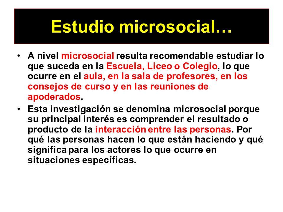 Estudio microsocial…