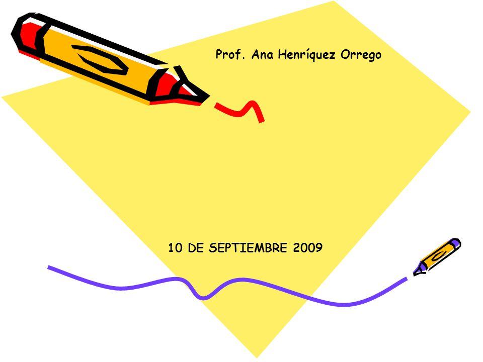 Prof. Ana Henríquez Orrego