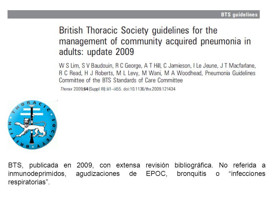 BTS, publicada en 2009, con extensa revisión bibliográfica