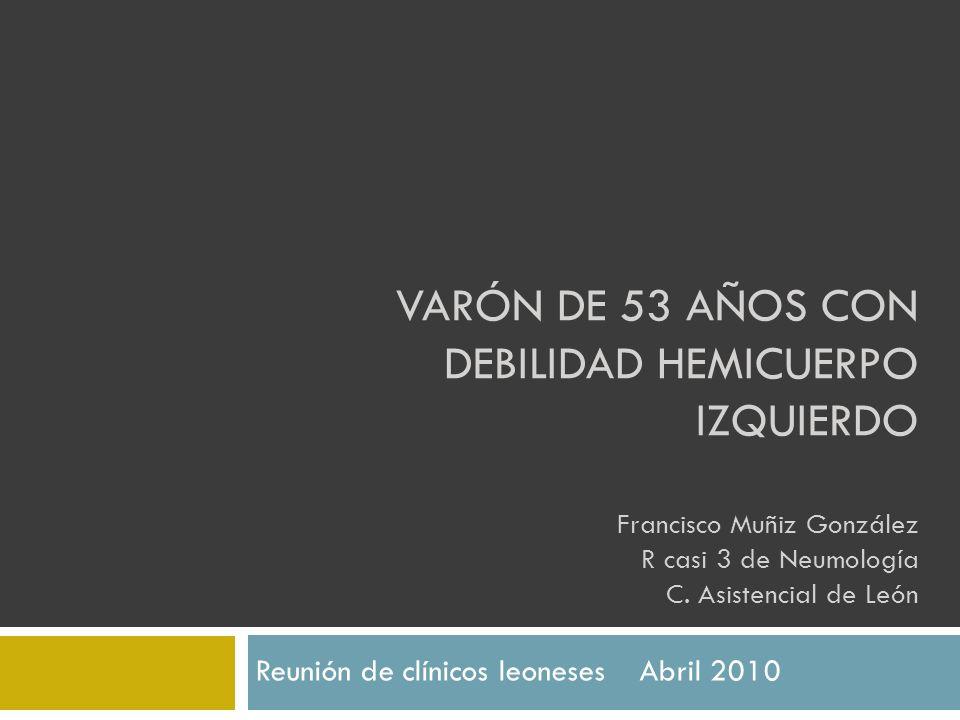 Reunión de clínicos leoneses Abril 2010