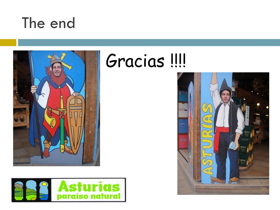 The end Gracias !!!!