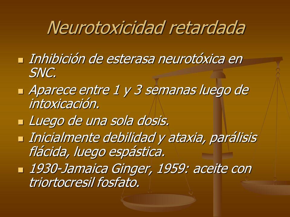 Neurotoxicidad retardada