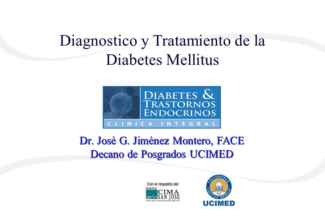 Dr. Josè G. Jimènez Montero, FACE Decano de Posgrados UCIMED