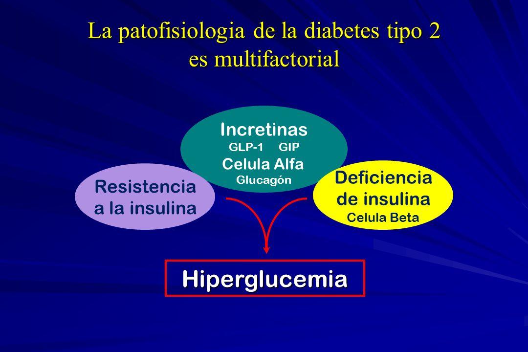 La patofisiologia de la diabetes tipo 2 es multifactorial