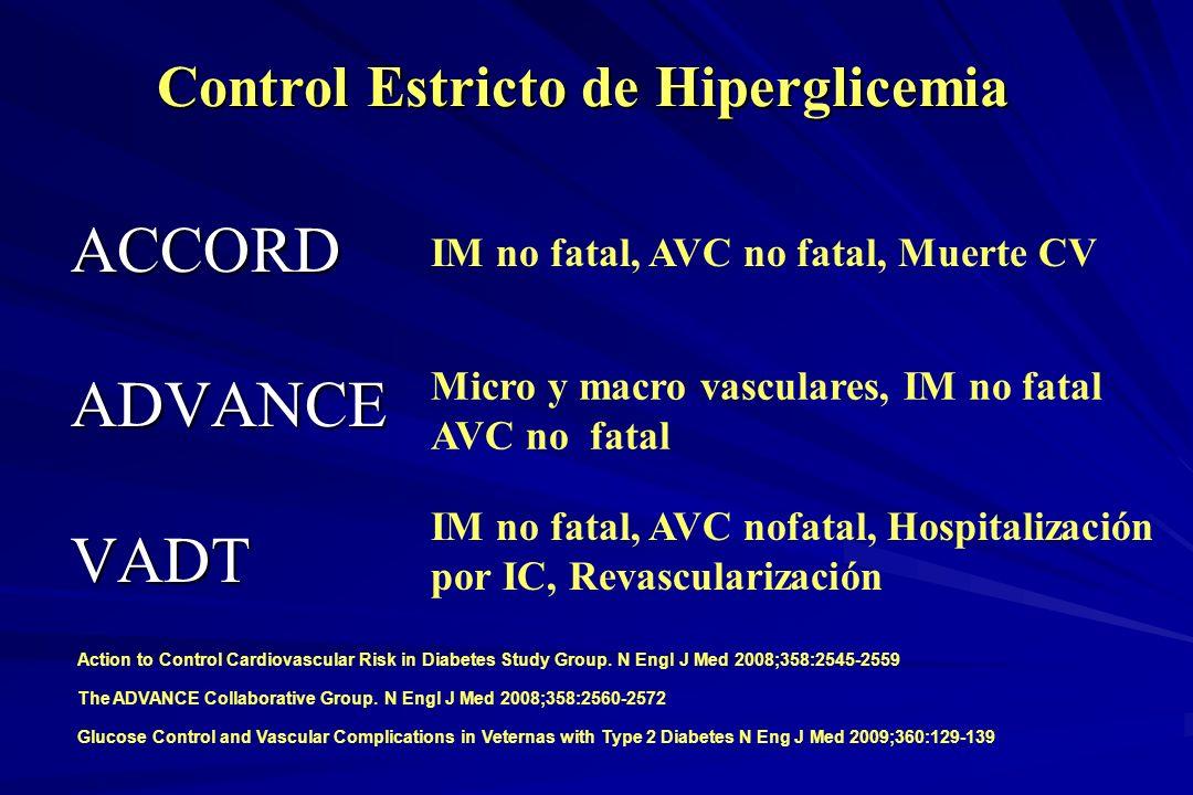 Control Estricto de Hiperglicemia