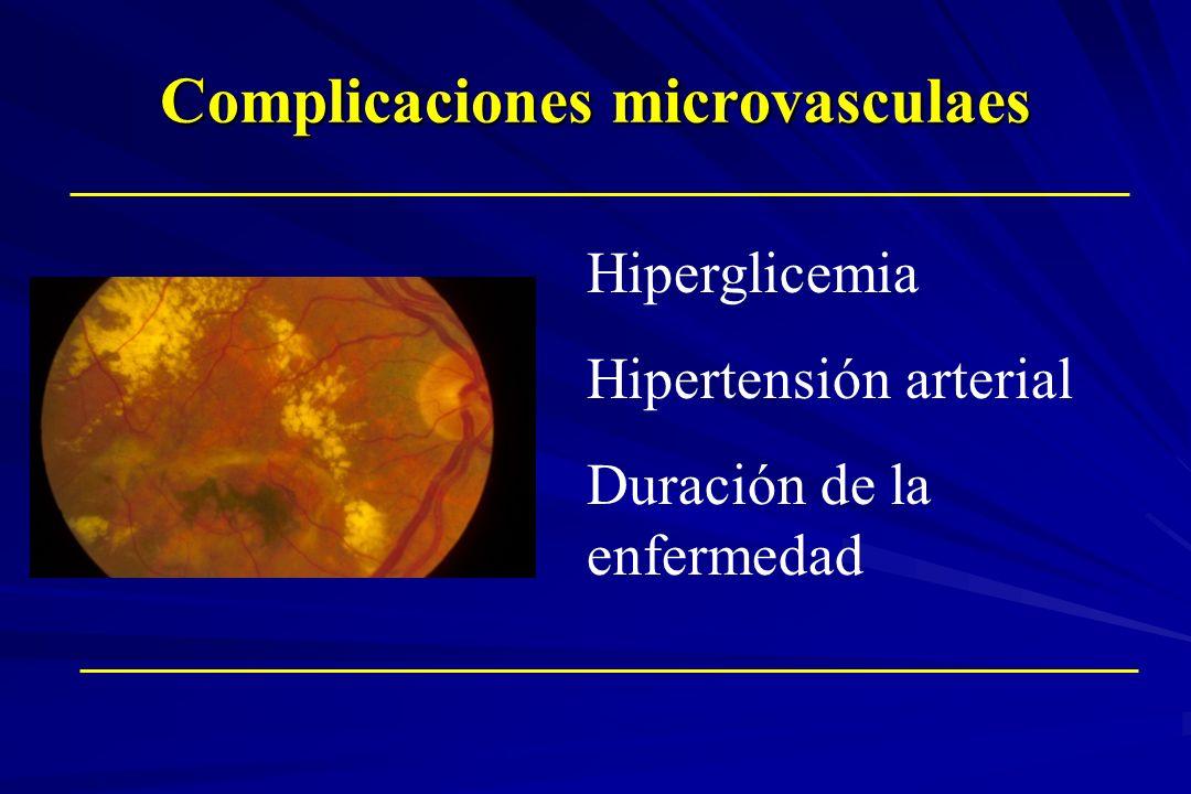 Complicaciones microvasculaes