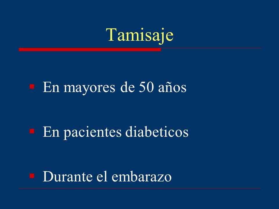 Tamisaje En mayores de 50 años En pacientes diabeticos