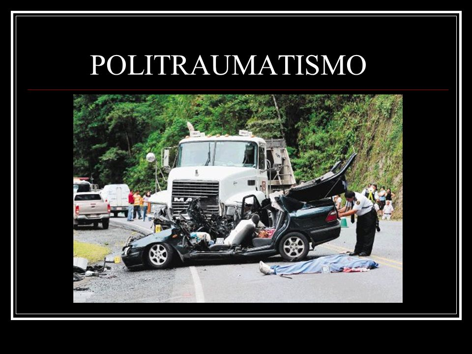 POLITRAUMATISMO