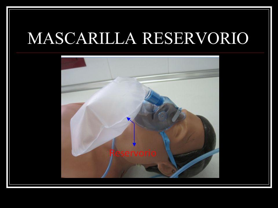 MASCARILLA RESERVORIO