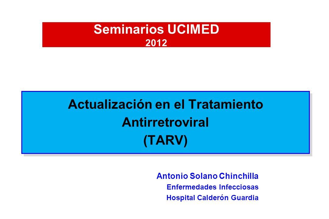 Actualización en el Tratamiento Antirretroviral (TARV)