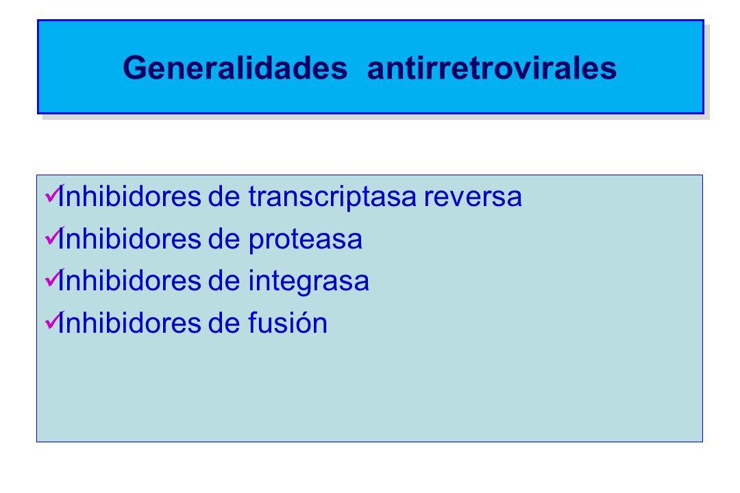 Generalidades antirretrovirales