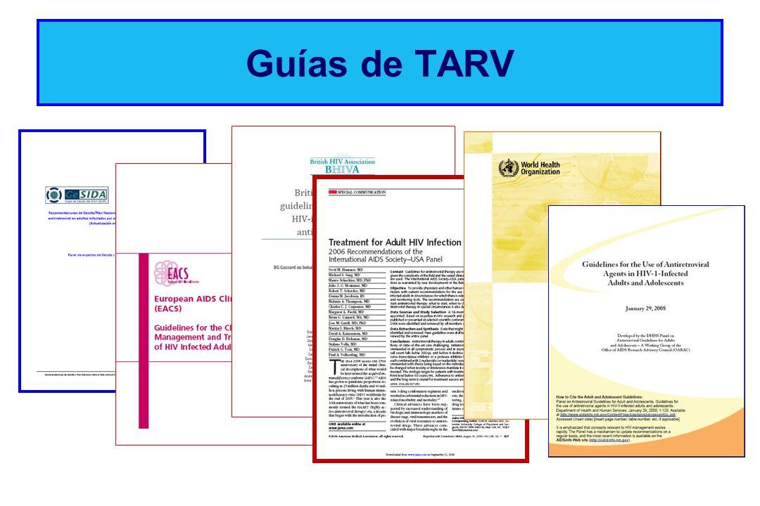 Guías de TARV