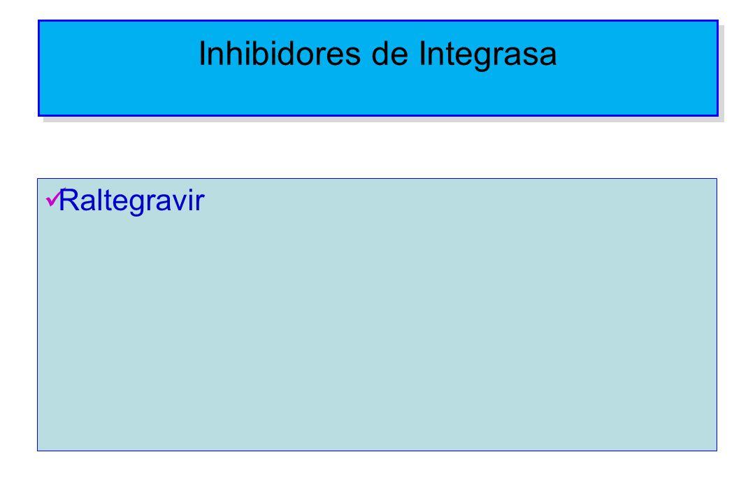Inhibidores de Integrasa