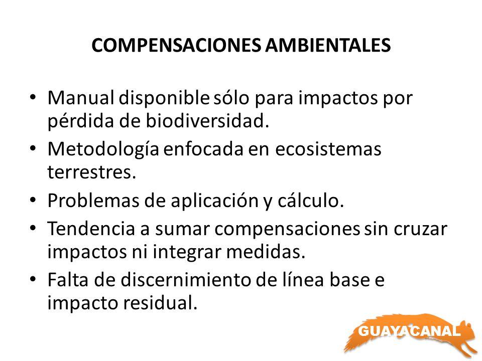 COMPENSACIONES AMBIENTALES