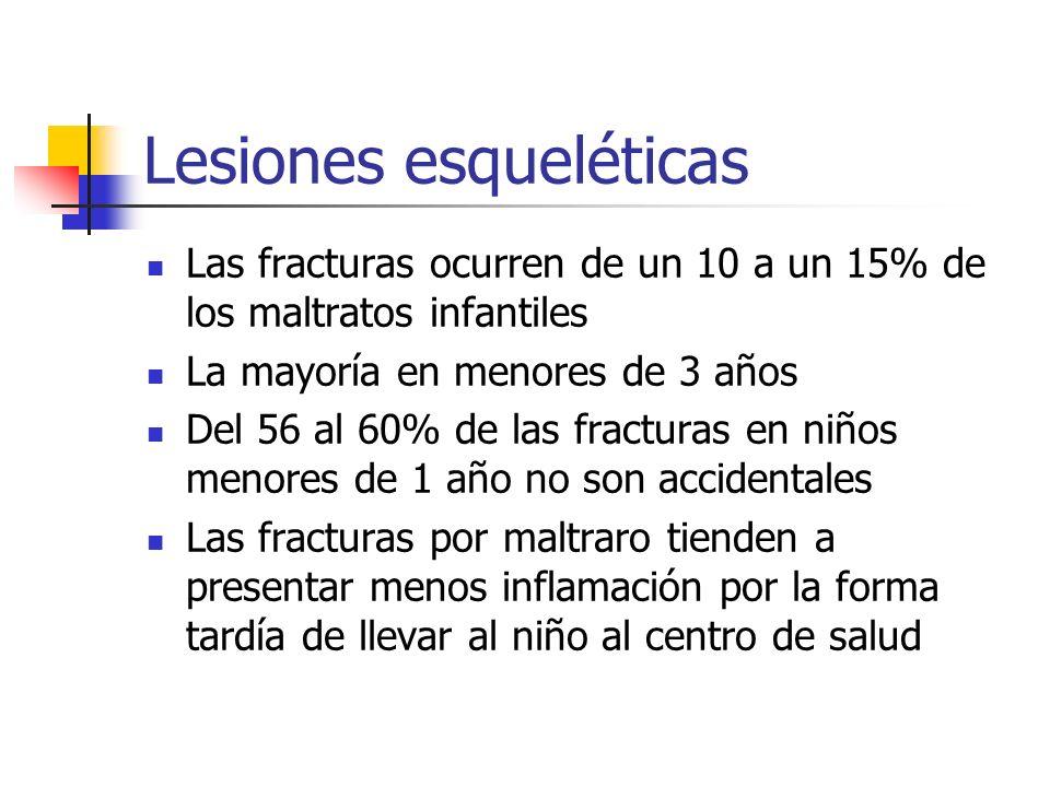 Lesiones esqueléticas