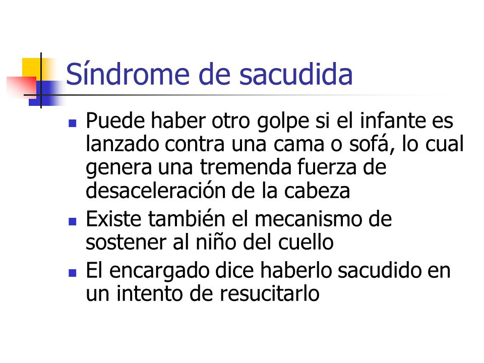 Síndrome de sacudida