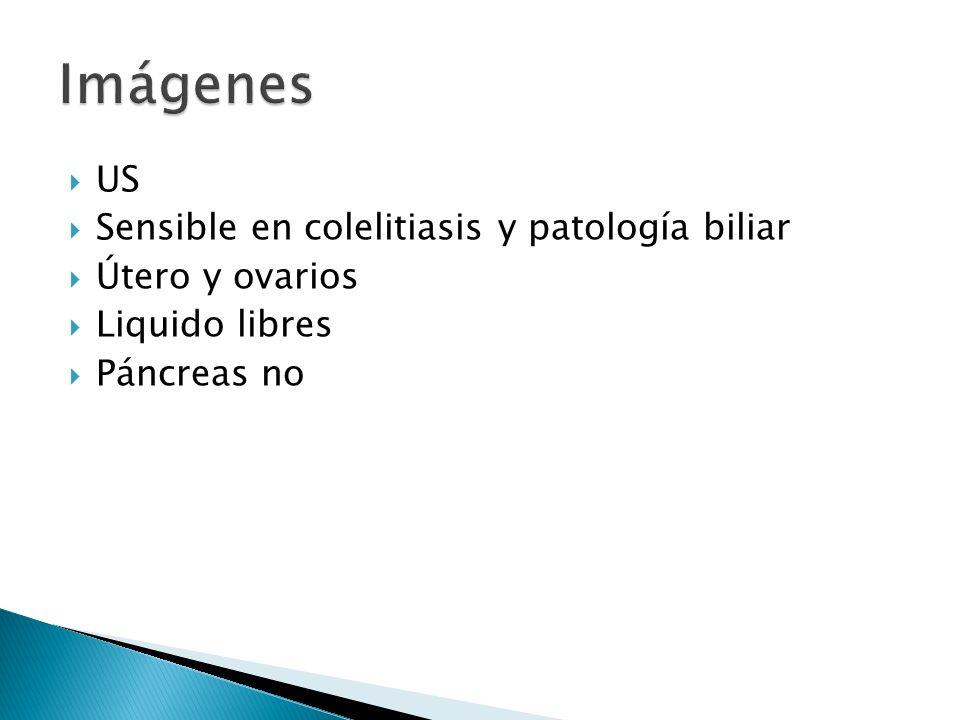 Imágenes US Sensible en colelitiasis y patología biliar