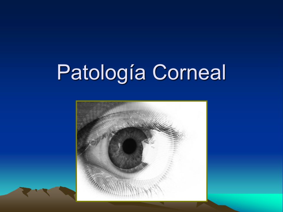 Patología Corneal
