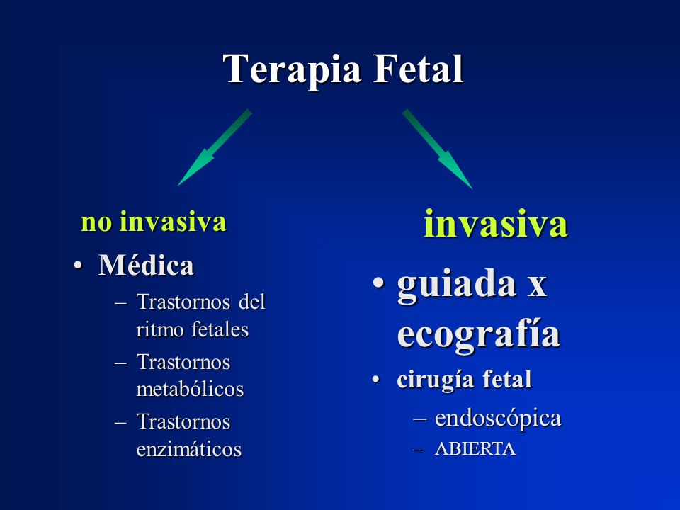 Terapia Fetal invasiva
