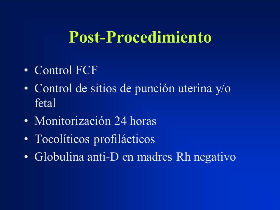 Post-Procedimiento Control FCF