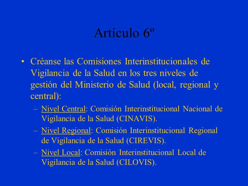 Artículo 6º