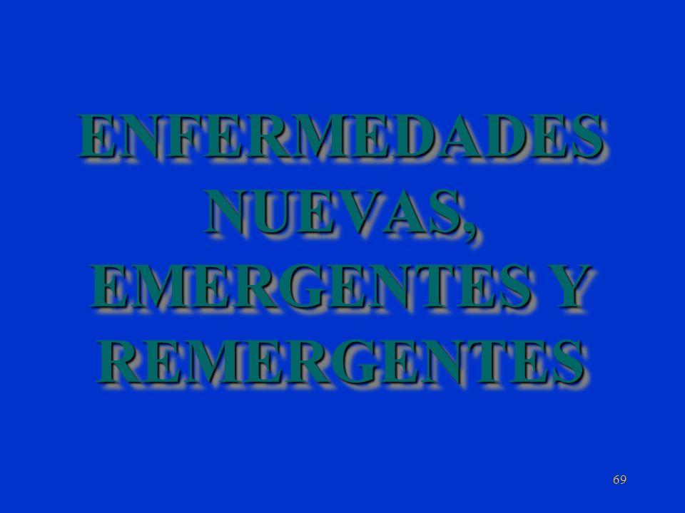 ENFERMEDADES NUEVAS, EMERGENTES Y REMERGENTES