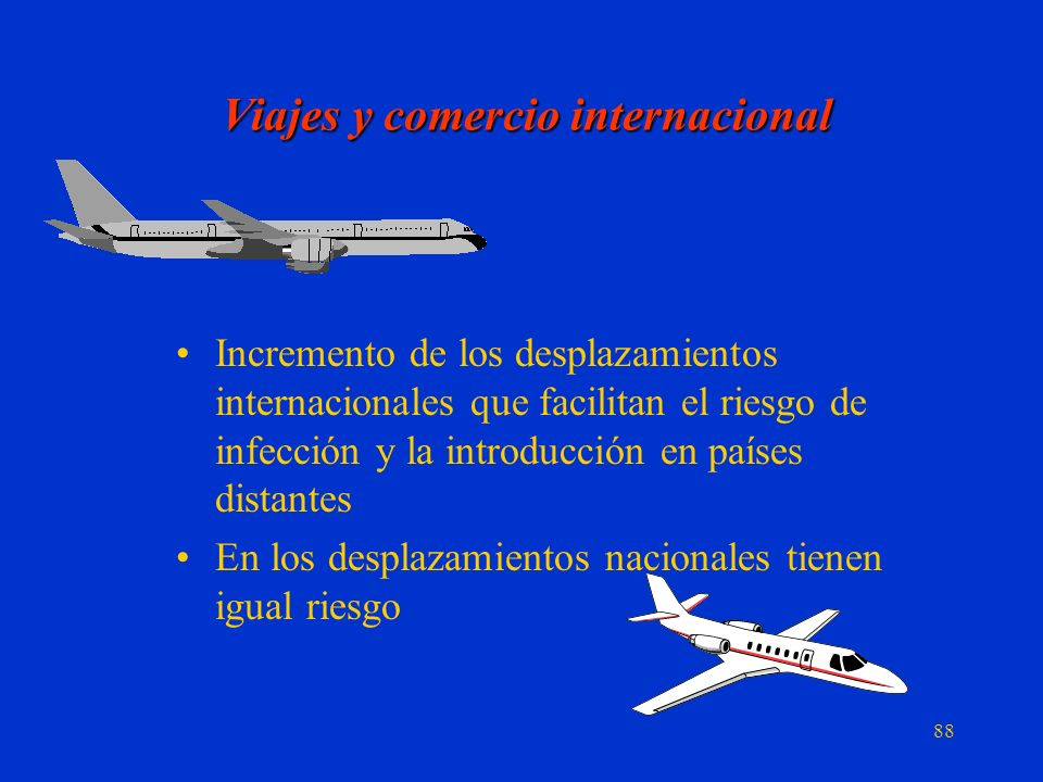 Viajes y comercio internacional