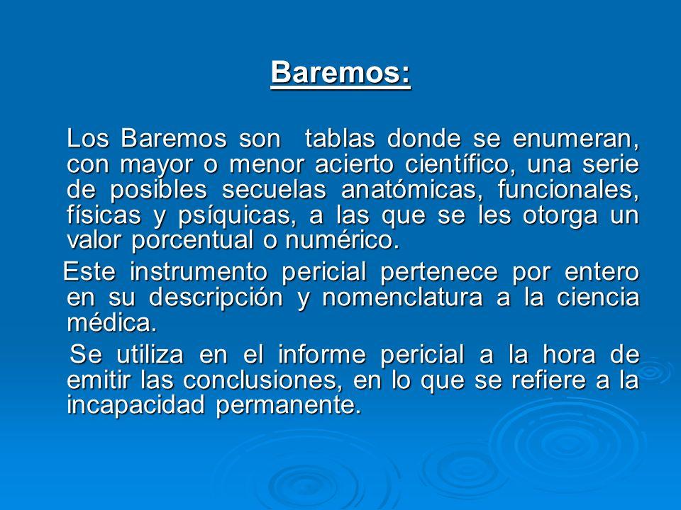 Baremos: