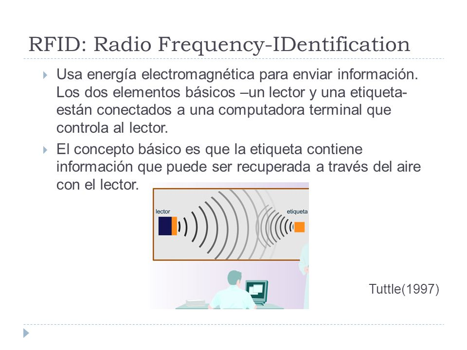 RFID: Radio Frequency-IDentification
