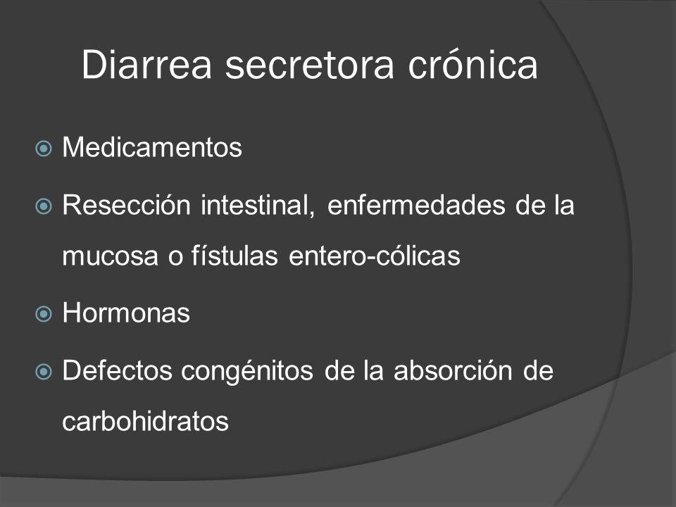 Diarrea secretora crónica
