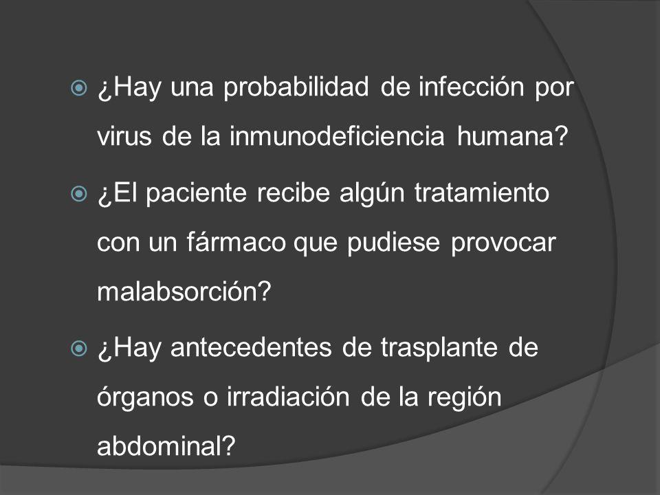 ¿Hay una probabilidad de infección por virus de la inmunodeficiencia humana