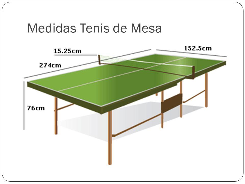 Medidas Tenis de Mesa
