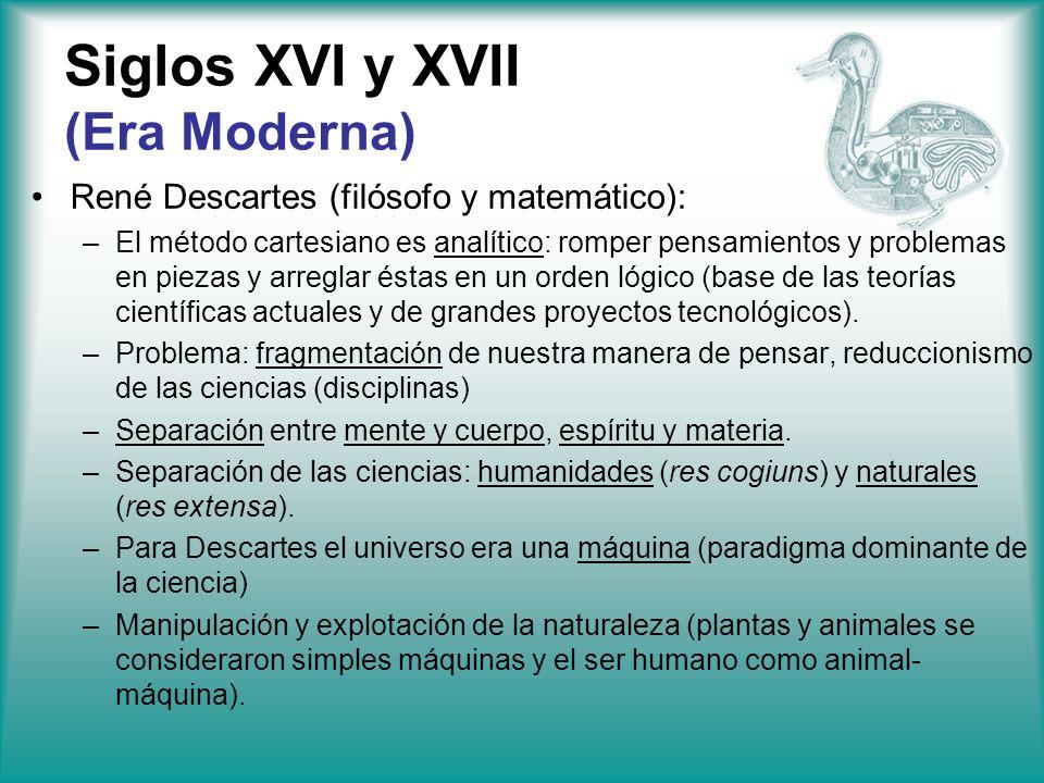 Siglos XVI y XVII (Era Moderna)