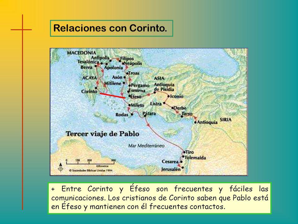Relaciones con Corinto.