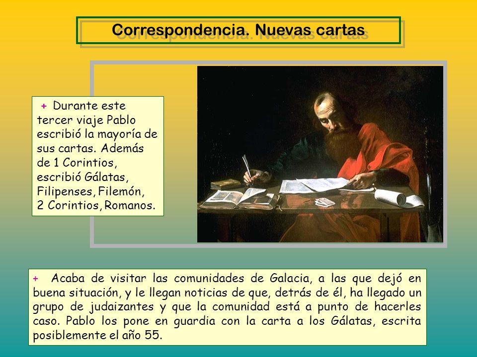 Correspondencia. Nuevas cartas