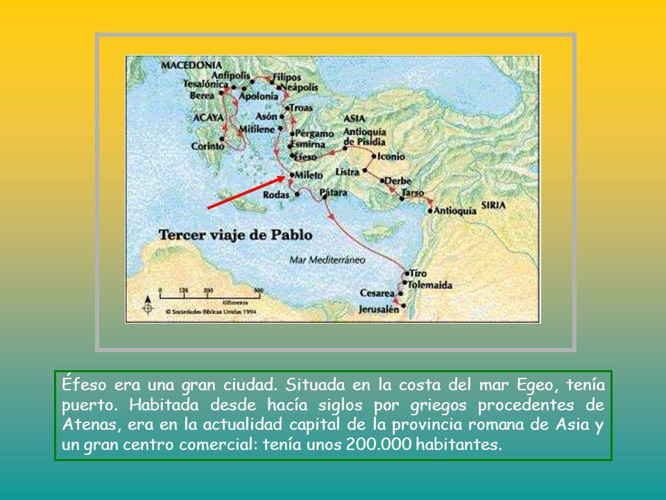 Éfeso era una gran ciudad