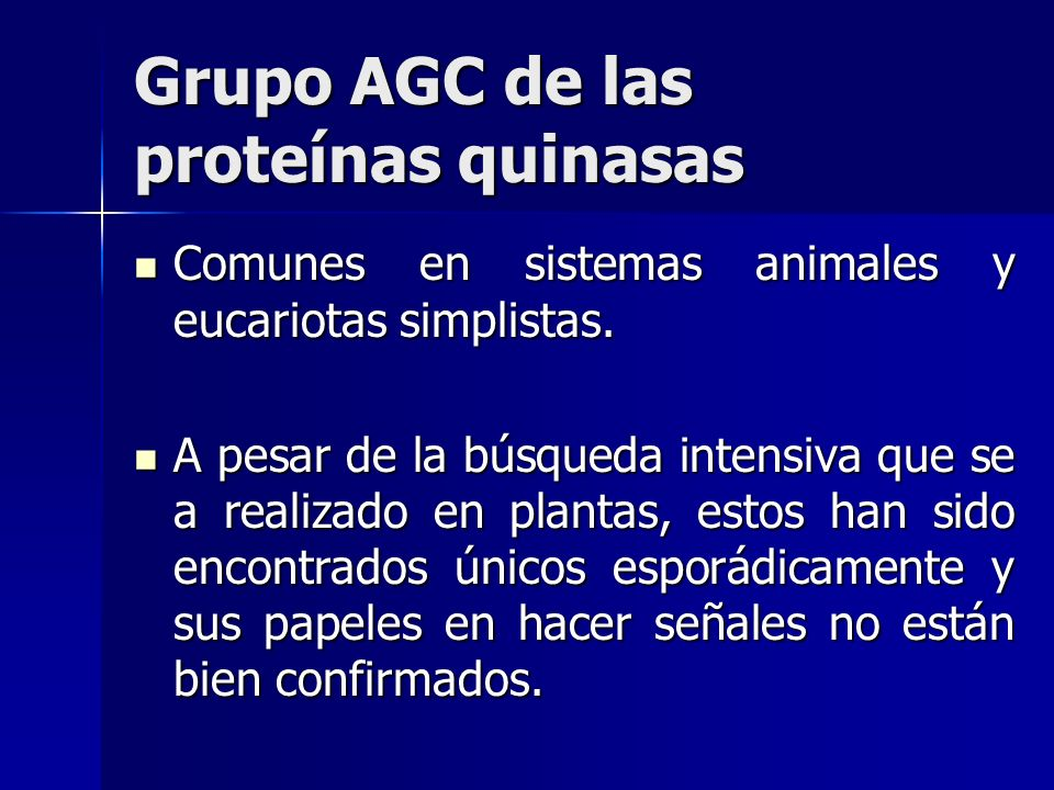Grupo AGC de las proteínas quinasas