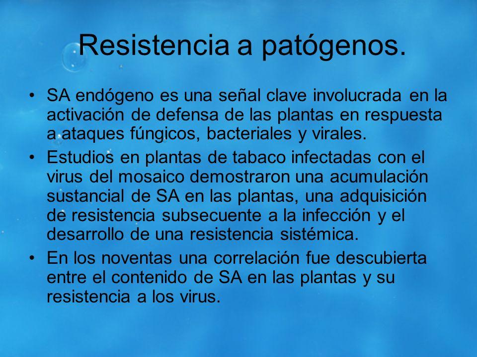Resistencia a patógenos.