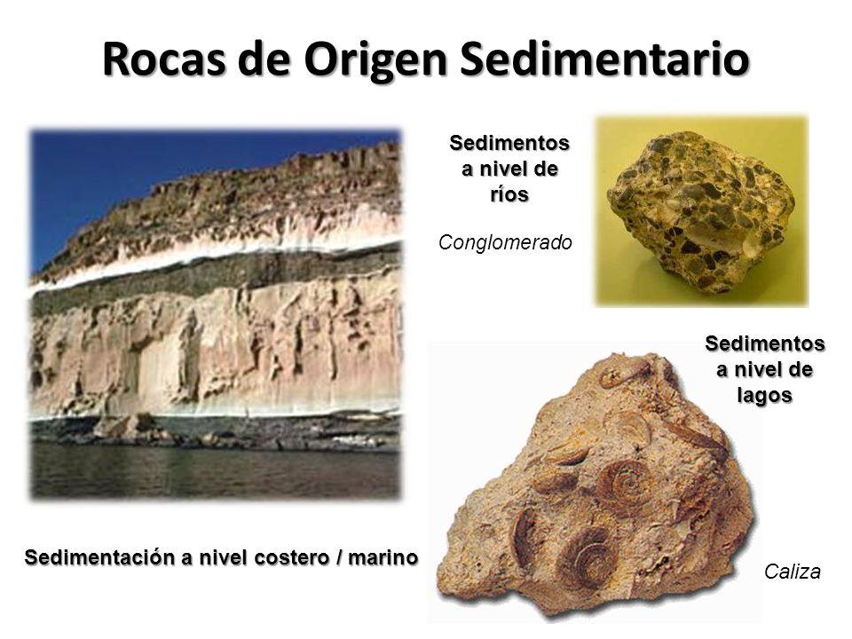 Rocas de Origen Sedimentario