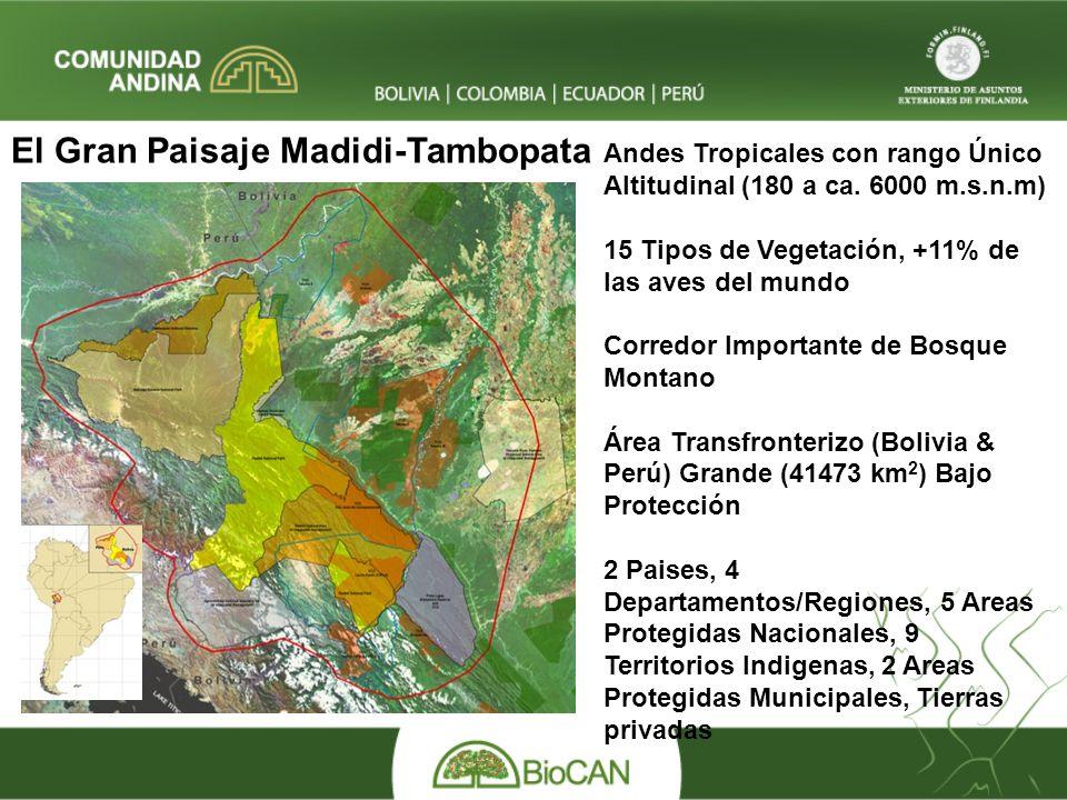 El Gran Paisaje Madidi-Tambopata
