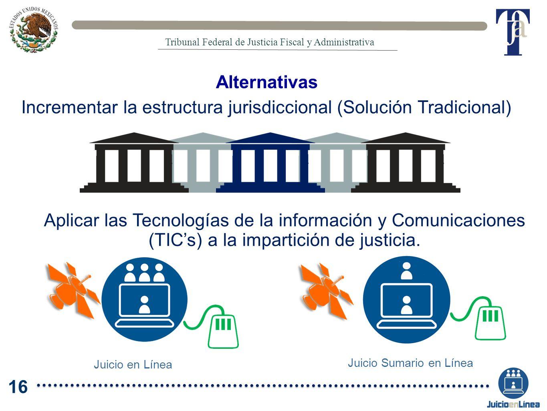Incrementar la estructura jurisdiccional (Solución Tradicional)